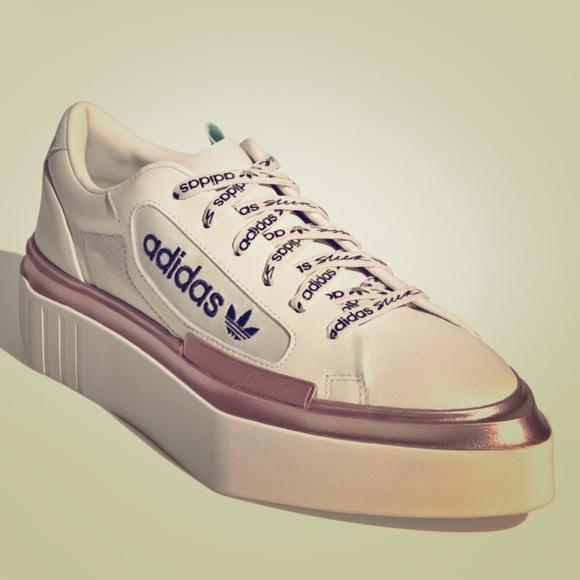 Womens Adidas Platform Sneakers Sz
